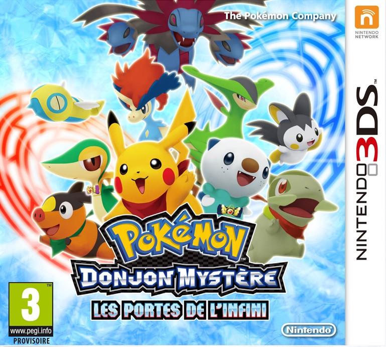 Nintendolesite test de pok mon donjon myst re les - Donjon mystere les portes de l infini ...