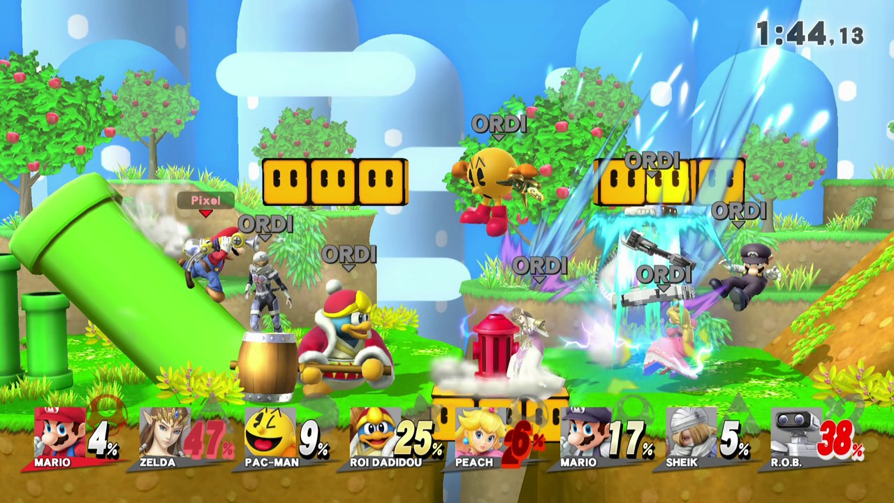 Smash Bros Wii U : Nintendolesite test de super smash bros for wii u sur